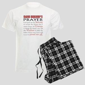 Stage Manager's Prayer Men's Light Pajamas
