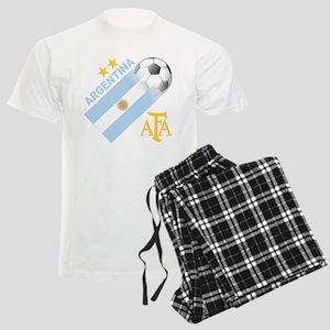 Argentina world cup soccer Men's Light Pajamas