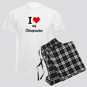I Love My Chiropractor Men's Light Pajamas