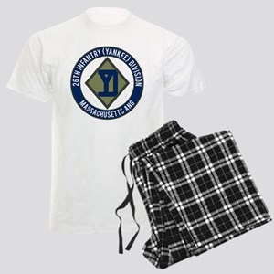 26th Infantry Mass ANG Men's Light Pajamas