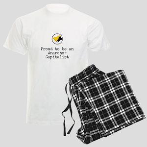 Proud Anarcho-Communist Men's Light Pajamas
