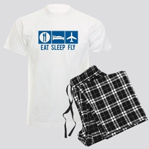 Eat Sleep Fly Men's Pajamas