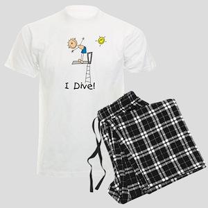 Boy I Dive Men's Light Pajamas