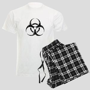 Biohazard Symbol Men's Light Pajamas