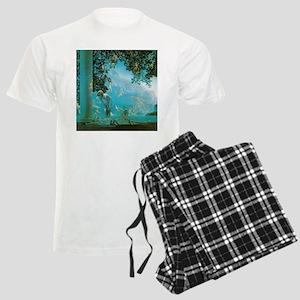 Maxfield Parrish Daybreak Men's Light Pajamas