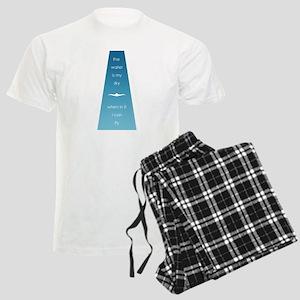Water is My Sky Men's Light Pajamas