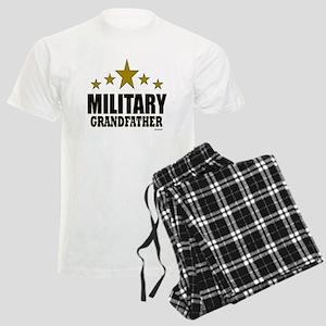 Military Grandfather Men's Light Pajamas