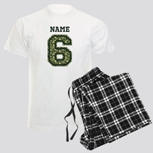 Personalized Camo 6 Pajamas