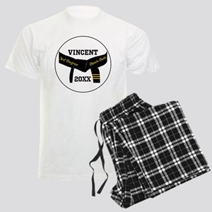 Martial Arts 3Rd Degree Black Belt Men's Pajamas