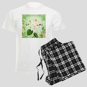 Modern Vintage French Hummingbirds Pajamas