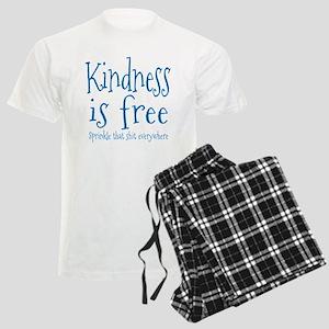 Sprinkle Kindness Blue Men's Light Pajamas