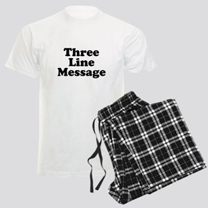 Big Three Line Message Pajamas