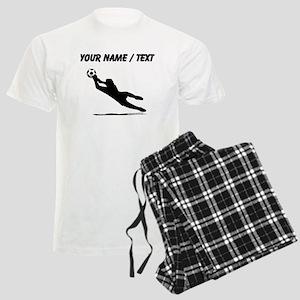 Custom Soccer Goalie Silhouette Pajamas