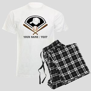 Custom Name/Text Baseball Gear Pajamas