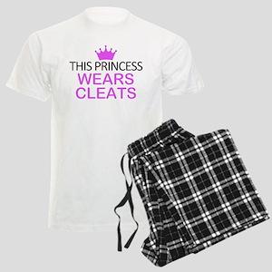 This Princess Wears Cleats Men's Light Pajamas