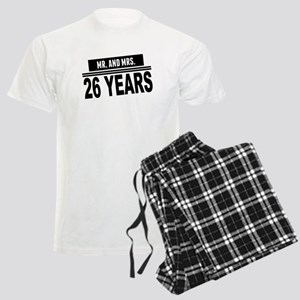 Mr. And Mrs. 26 Years Pajamas