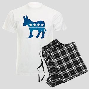Democrats Donkey Men's Light Pajamas