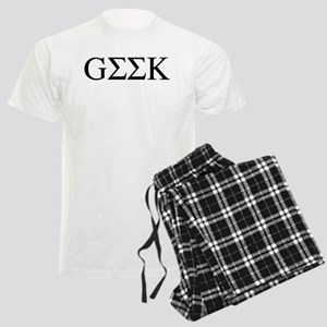 Greek Geek Men's Light Pajamas