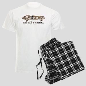 75th Birthday Classic Car Men's Light Pajamas