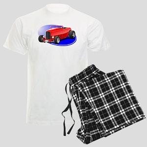 Classic Hot Rod Men's Light Pajamas