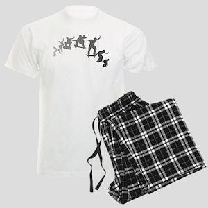Skateboarding Men's Light Pajamas