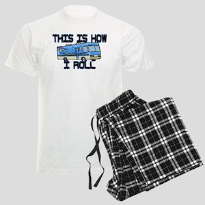 How I Roll RV Men's Light Pajamas