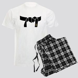 1st Black Belt Men's Light Pajamas