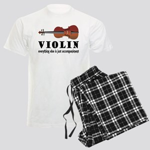 Violin Humor Music Men's Light Pajamas