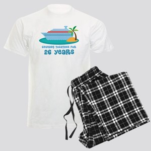 26th Anniversary Cruise Men's Light Pajamas