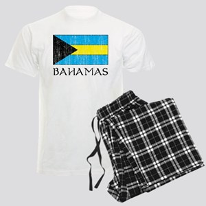 Bahamas Flag Men's Light Pajamas