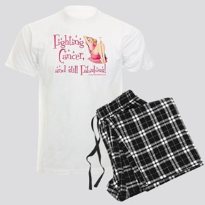Fabulous Cancer! Men's Light Pajamas