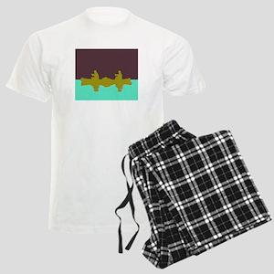 NIGHT SKY CANOE Men's Light Pajamas