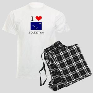 I Love SOLDOTNA Alaska Pajamas