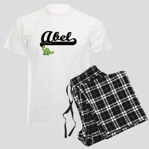 Abel Classic Name Design with Men's Light Pajamas
