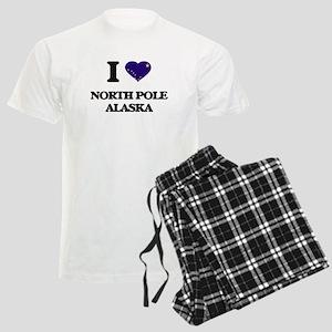 I love North Pole Alaska Men's Light Pajamas