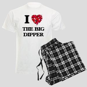 I love The Big Dipper Men's Light Pajamas