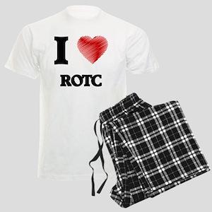I Love Rotc Men's Light Pajamas