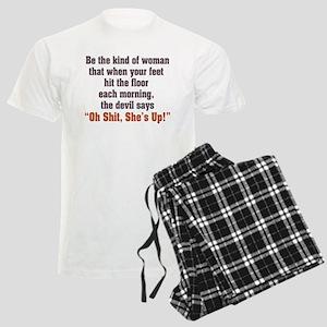 Be the Kind of Woman Men's Light Pajamas