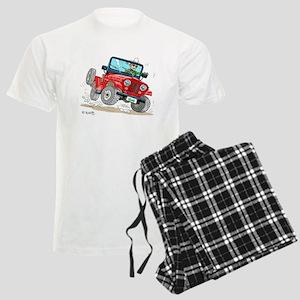 Willys-Kaiser CJ5 jeep Men's Light Pajamas
