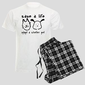 Save a Life - Adopt a Shelter Men's Light Pajamas
