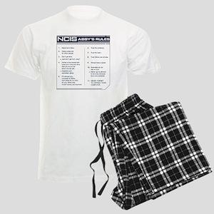 NCIS Abby's Rules Men's Light Pajamas