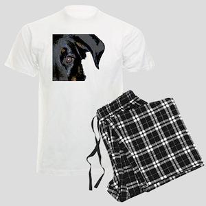 Beauceron Graphic Men's Light Pajamas