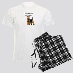 Airedale Terrier Says You've Men's Light Pajamas