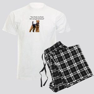 Your Food - My Food Airedale Men's Light Pajamas