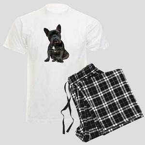 French Bulldog Puppy Portrait Men's Light Pajamas