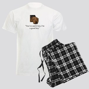 Sulking Airedale Terrier Givi Men's Light Pajamas