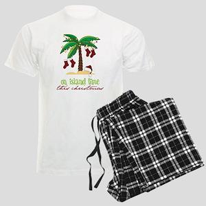 On Island Time Men's Light Pajamas