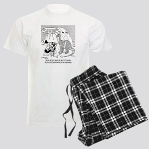 7190_archaeology_cartoon Men's Light Pajamas