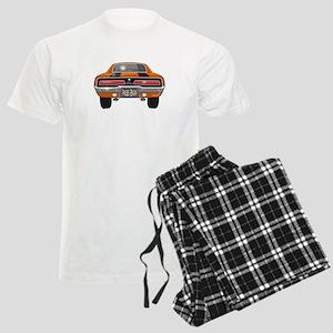 1969 Charger Bumper Men's Light Pajamas