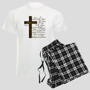 Plan of God Jeremiah 29:11 Men's Light Pajamas